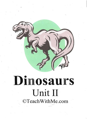 Dinosaur Mini Unit Book 2