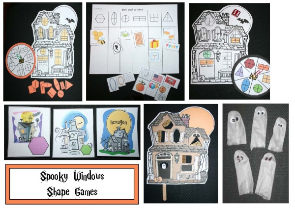 Spooky Windows A Halloween Shape Game