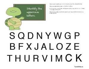 Assessments For The Alphabet