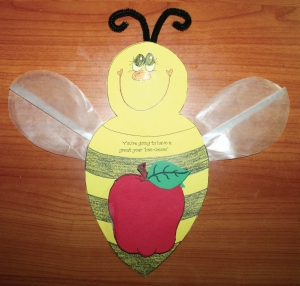 "You're Going To Have A Great Year ""Bee-cause"" Writing Prompt Craft"