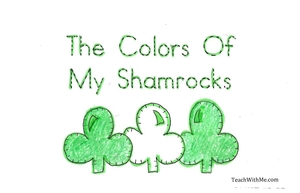Easy Reader Booklet: The Colors Of My Shamrock