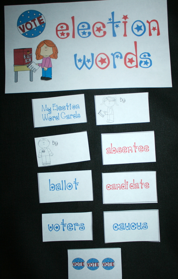 Election Word Wall Words