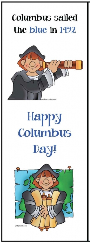 Columbus Day Activites For Table Top