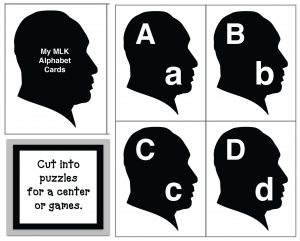 Martin Luther King Alphabet Cards & Games