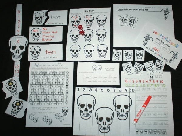 Numb Skull Math Packet