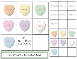 Candy Heart Color Games