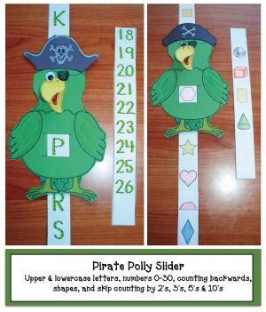 Pirate Polly Sliders