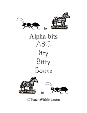 Alpha-bits ABC Itty Bitty Books