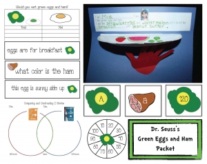 Green Eggs and Ham Activity Packet