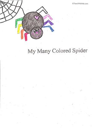 Booklet: My Many Colored Spider