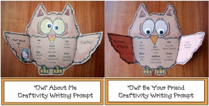 Owl Writing Prompt Craftivity