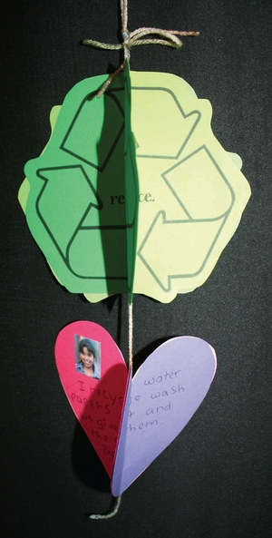 Earth Day Recycle Writing Prompt Dangler