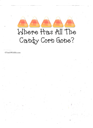 Booklet: Where Has All The Candy Corn Gone?