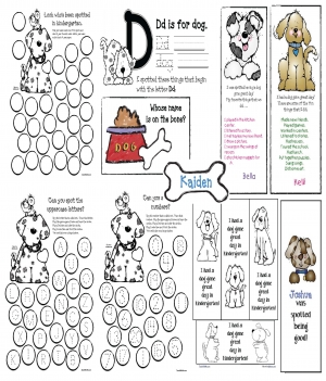 Back to School Puppy Packet