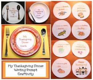 My Thanksgiving Dinner Writing Prompt Craft