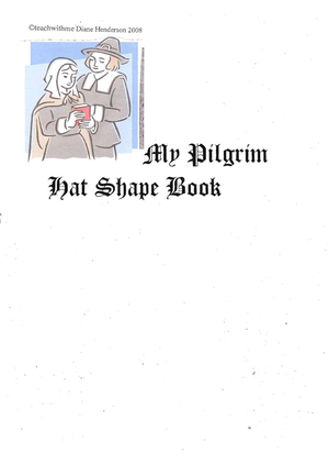 Booklet: My Pilgrim Hat Shape Book