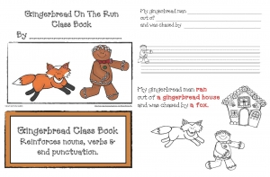 Gingerbread Man On The Run Class Book