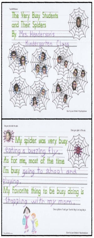 The Very Busy Spider Class Book