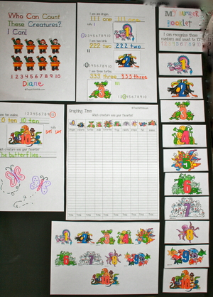 Counting Creatures Packet