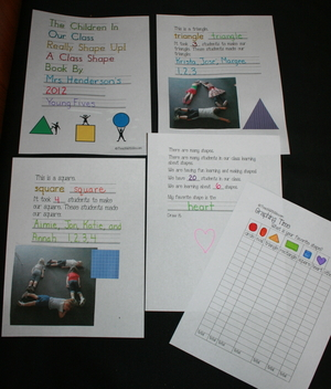 Shaping Kids Up Shape Booklet