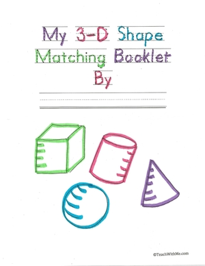 My 3-D Matching Booklet