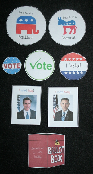 Election Voting Badges