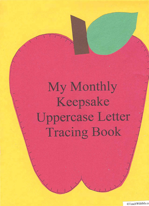 ABC Keepsake Uppercase Tracing Book and Assessment Tool