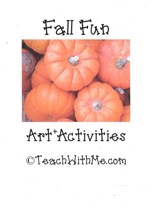 Fall Fun Art + Activities Mini Book
