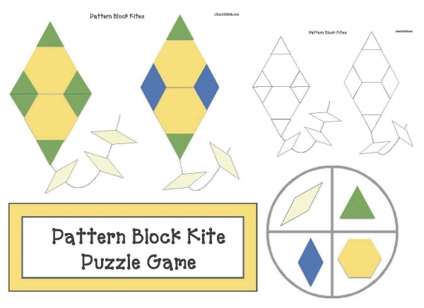 Pattern Block Kites