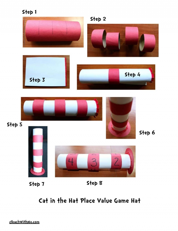 Cat in the Hat Place Value Game