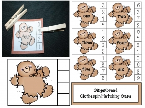 Gingerbread Number Game