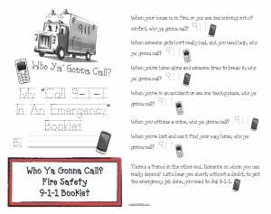 Booklet: Who Ya Gonna Call?