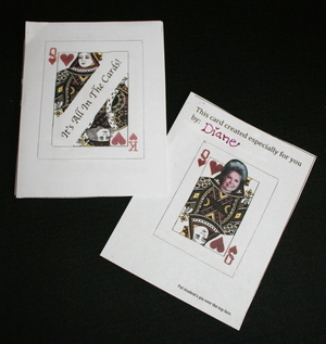 Playing Card Valentine Counting Booklet
