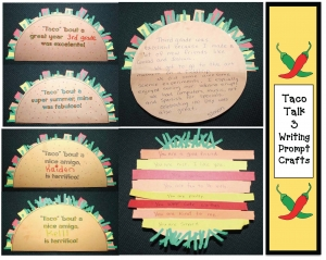 Taco Talk Writing Prompt Craftivity