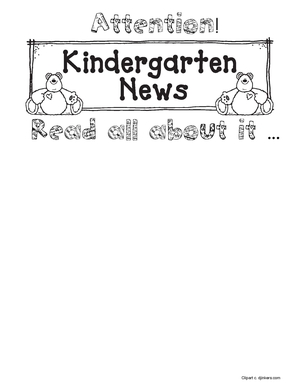 PK-4th Grade Read All About It Writing Prompt Bulletin Board