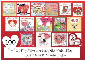 100 All-Time Favorite Love-Themed Valentine Books