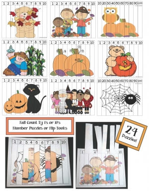 Number Puzzles For Fall