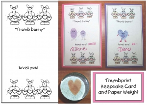 Thumbprint Keepsake Valentine