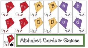 Kite Alphabet Cards & Games