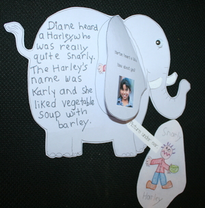 Horton Hears Writing Prompt Craftivity
