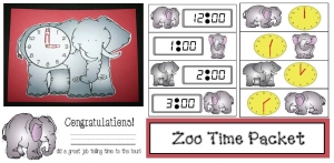 Zoo Time Packet