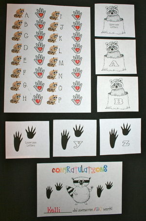 Upper and Lowercase Letter Activities For The Kissing Hand