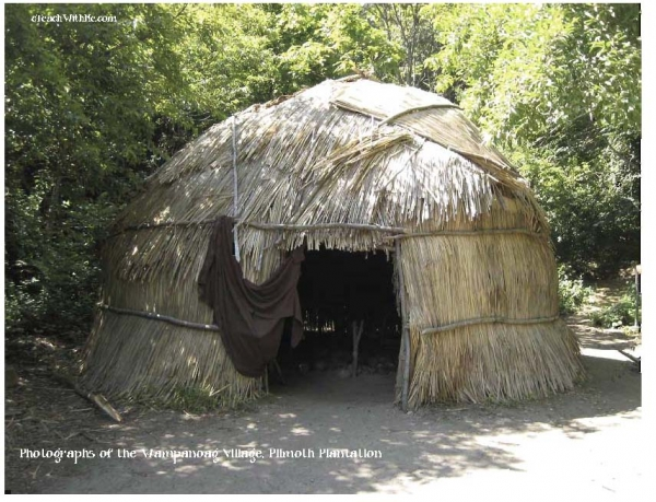 Real Photographs of the Wampanoag Village