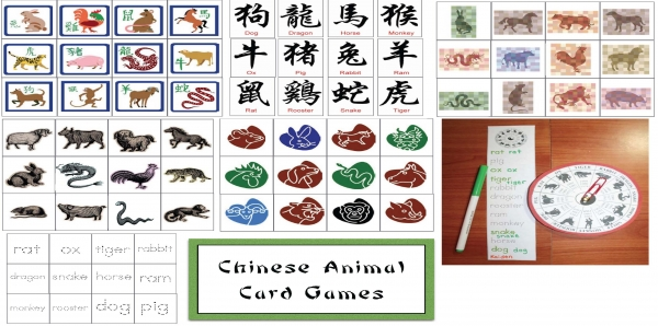 Chinese Animal Card Games