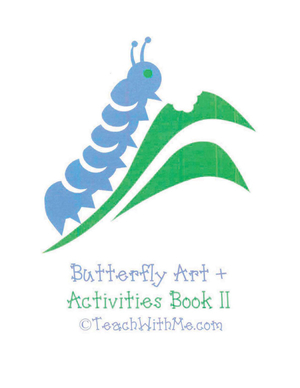Butterfly Art + Activities Book II