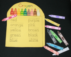 Color and Number Word Activities
