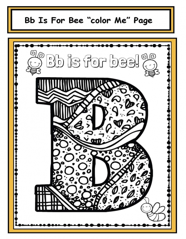 Bb is for Bee