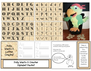 Polly Wants A Letter Pirate ABC Packet