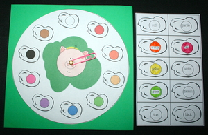 Dr. Seuss Green Eggs and Ham Color Packet