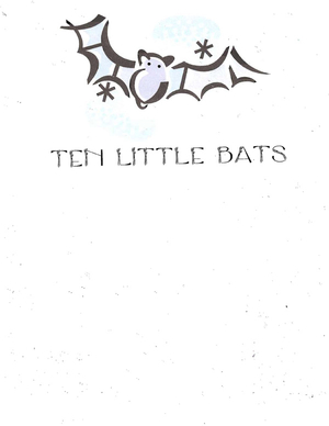 Booklet: 10 Little Bats